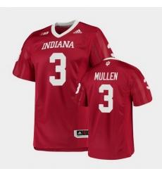 Men Indiana Hoosiers Tiawan Mullen College Football Crimson Game Jersey