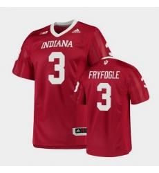 Men Indiana Hoosiers Ty Fryfogle College Football Crimson Game Jersey