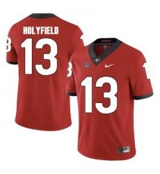 Elijah Holyfield 13 Red Jersey .jpg