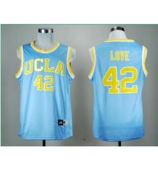 UCLA Bruins Kevin Love 42 Blue College Basketball Jersey