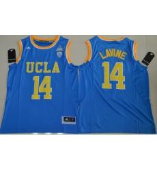 UCLA Bruins Zach LaVine 14 College Basketball Authentic Jersey  Blue