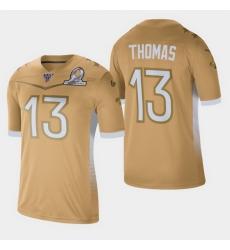 Men's New Orleans Saints #13 Michael Thomas 2020 NFC Pro Bowl Game Jersey