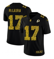 Washington Redskins 17 Terry McLaurin Men Nike Leopard Print Fashion Vapor Limited NFL Jersey Black