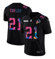 Washington Redskins 21 Sean Taylor Men Nike Multi Color Black 2020 NFL Crucial Catch Vapor Untouchable Limited Jersey
