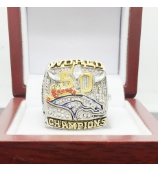 NFL Denver Broncos 2015 Championship Ring