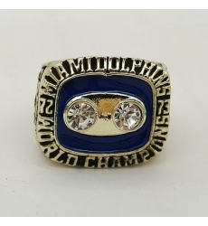 NFL Miami Dolphins 1973 Championship Ring