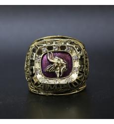 NFL Minnesota Vikings 1974 Championship Ring