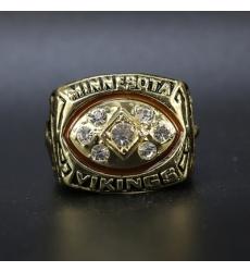 NFL Minnesota Vikings 1976 Championship Ring