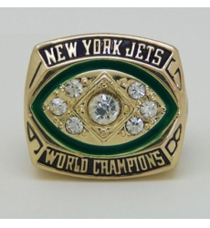 NFL New York Jets 1968 Championship Ring