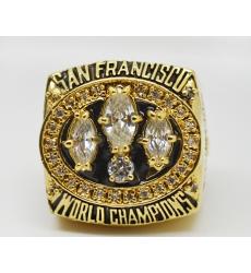 NFL San Francisco 49ers 1988 Championship Ring