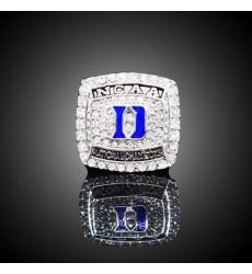 2015 Duke Blue Devils University NCAA Championship Ring