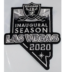Raiders 2020 Inaugural Patch