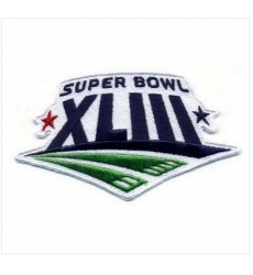 Stitched Super Bowl 43 XLIII Jersey Patch Pittsburgh Steelers vs Arizona Cardinals