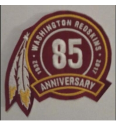 Washionton Redskins 85th Anniversary Patch
