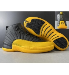 Air Jordan 13 Retro Men Shoes Black Yellow