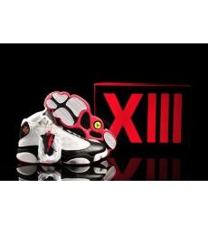 Air Jordan 13 XIII Shoes 2013 Mens Shoes White Black Red Sale