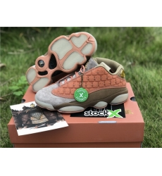 CLOT x Air Jordan 13 Low Men Shoes