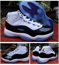 Air Jordan 11 Retro Print Men Shoes White Black