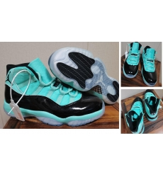 Air Jordan 11 Space Jam 2020 Men Shoes Cyan Black