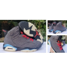 Air Jordan 6 Retro Levis Blue