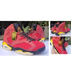 Air Jordan 6 Retro Levis Jeans Red