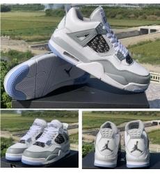 Air Jordan 4 GS Dior Men Basketball Shoes