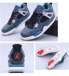 Air Jordan 4 Retro Laser Blue Men Shoes