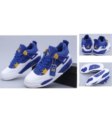 Air Jordan 4 Retro Men Shoes CJP213-ZZL Golden Warriors Steve Curry