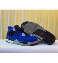 Men Air Jordan 4 2018 NAM Blue Shoes
