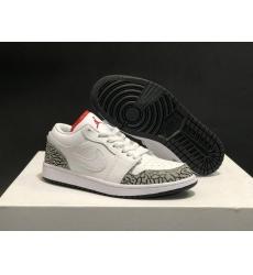 Air Jordan 1 Low Shoes Women 012