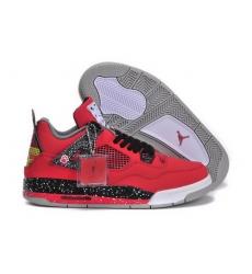 Air Jordan 4 Shoes 2013 Womens Red Black