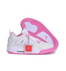 Air Jordan 4 Shoes 2013 Womens White Pink