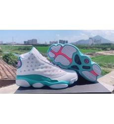 Nike Air Jordan 13 GS Aurora Green Women Shoes