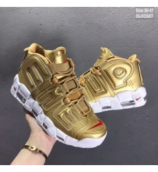 Supreme x Nike Air More Uptempo Men Shoes 001