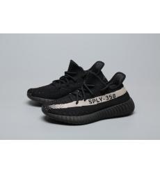 adidas Yeezy Boost 350 V2 Core Black White Men Shoes
