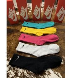 Nike Colour Socks 5 in 1 Model 004