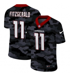 Arizona Cardinals 11 Larry Fitzgerald Men Nike 2020 Black CAMO Vapor Untouchable Limited Stitched NFL Jersey