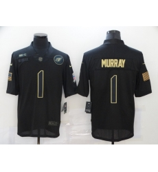 Nike Arizona Cardinals 1 Kyler Murray Black 2020 Salute To Service Limited Jersey