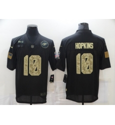 Nike Arizona Cardinals 10 DeAndre Hopkins Black Camo 2020 Salute To Service Limited Jersey