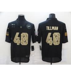 Nike Arizona Cardinals 40 Pat Tillman Black Camo 2020 Salute To Service Limited Jersey