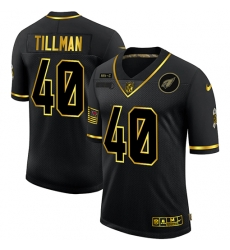 Nike Arizona Cardinals 40 Pat Tillman Black Gold 2020 Salute To Service Limited Jersey