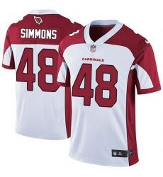 Nike Cardinals 48 Isaiah Simmons White Men Stitched NFL Vapor Untouchable Limited Jersey