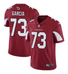 Nike Cardinals 73 Max Garcia Red Team Color Men Stitched NFL Vapor Untouchable Limited Jersey