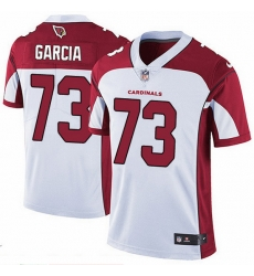 Nike Cardinals 73 Max Garcia White Men Stitched NFL Vapor Untouchable Limited Jersey