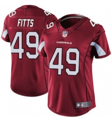 Women Nike Arizona Cardinals 49 Kylie Fitts Limited Cardinal Red Vapor Untouchable Jersey
