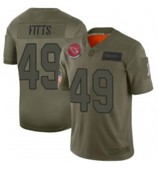Youth Nike Arizona Cardinals 49 Kylie Fitts Limited 2019 Salute To Sercie Vapor Untouchable Jersey