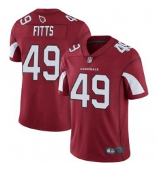 Youth Nike Arizona Cardinals 49 Kylie Fitts Limited Cardinal Red Vapor Untouchable Jersey