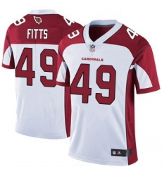 Youth Nike Arizona Cardinals 49 Kylie Fitts Limited Cardinal White Vapor Untouchable Jersey