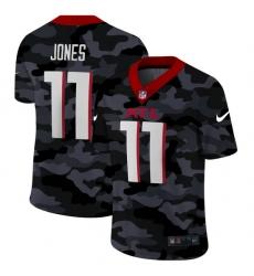 Atlanta Falcons 11 Julio Jones Men Nike 2020 Black CAMO Vapor Untouchable Limited Stitched NFL Jersey