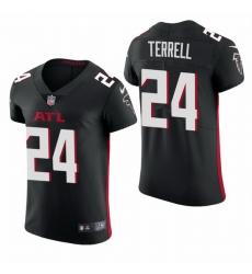 Atlanta Falcons 24 A J  Terrell Nike Men Black Team Color Men Stitched NFL 2020 Vapor Untouchable Elite Jersey